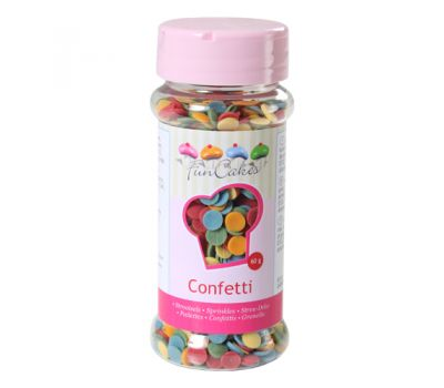 Confetti mix 6 mm 60 gr - FunCakes, fig. 1