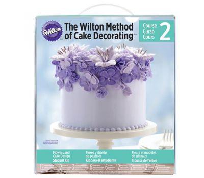 Wilton Cursus 2   'Flowers & Cake Design'   4 avonden (start wo 08/05/2019), fig. 1