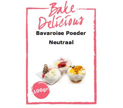 Bavaroise poeder Naturel 100 gr - Bake Delicious, fig. 1