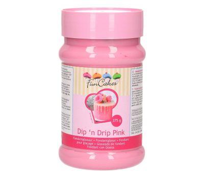 Dip 'n Drip Roze 375 gr - FunCakes, fig. 1