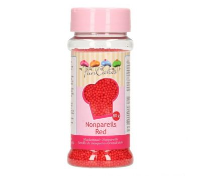 Musketzaad rood 80 gr  - FunCakes, fig. 1