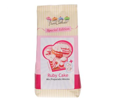 Mix voor Ruby cake 400 gr - FunCakes, fig. 1