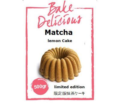 Mix voor Matcha lemon cake 500 gr - Bake Delicious, fig. 1