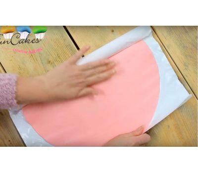 Uitgerolde fondant zachtroze (sweet pink) - FunCakes, fig. 2