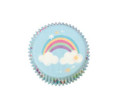 Regenboog en eenhoorn - baking cups (24 st) - Culpitt, fig. 2