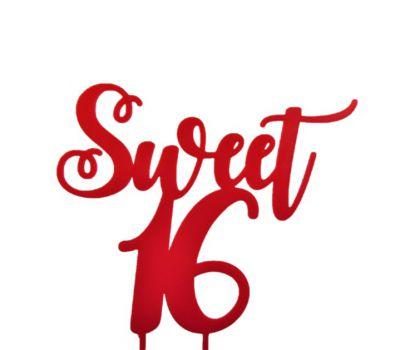 Taarttopper - Sweet 16 Sierlijk, fig. 2