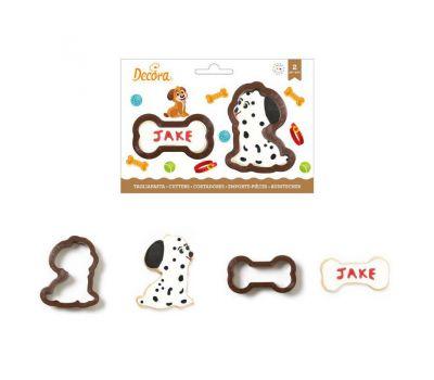 Hond en bot uitstekers set/2 - Decora, fig. 1