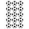 Eetbare print - 15 rondjes 5 cm - voetbal, fig. 1